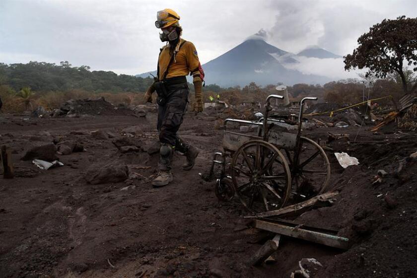 El deceso de la mujer, cuya identidad prefirió resguardar el funcionario, sucedió entre las 14.00 y las 15.00 hora local de Guatemala (20.00 y 21.00 GMT). EFE/Archivo