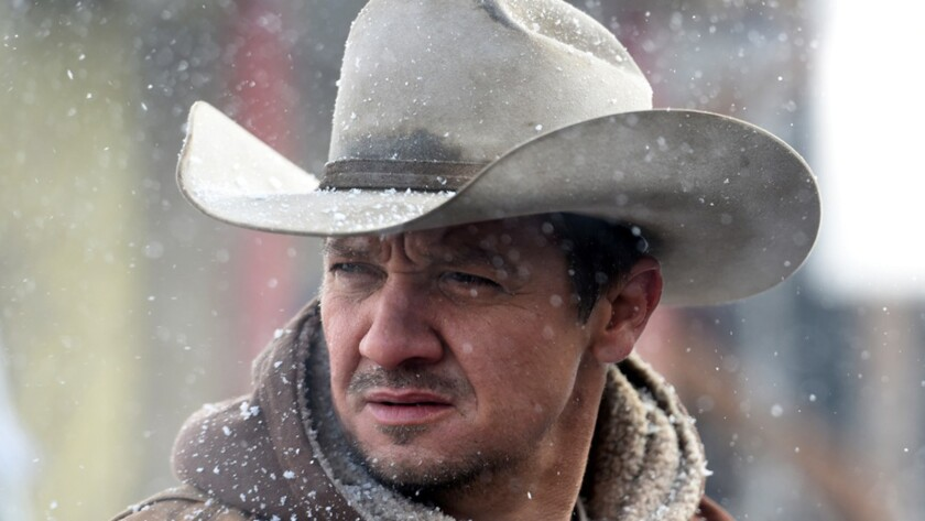 "Jeremy Renner in ""Wind River."""