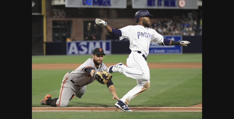 Padres vs. Giants 4/8/17