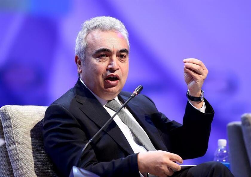 En la imagen, el director ejecutivo de la agencia, Fatih Birol. EFE/Archivo