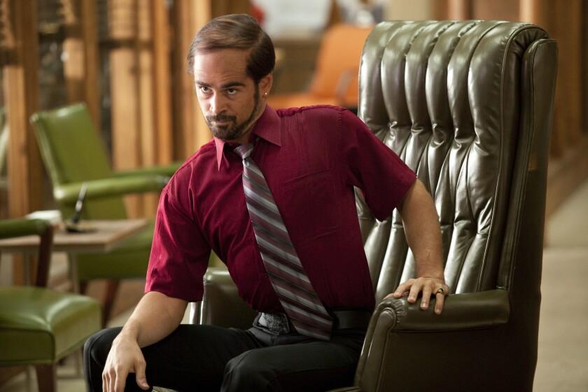 """Colin Farrell is Bobby Pellit in """"Horrible Bosses."""""""