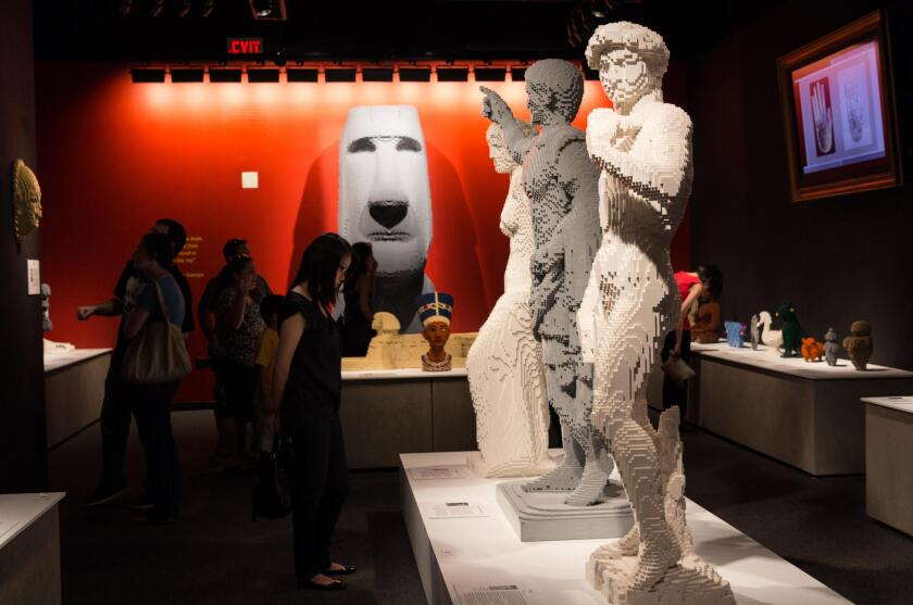 'Art of the Brick' is at the Fleet Science Center