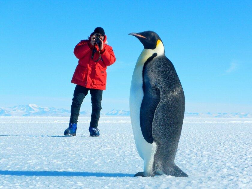 Scientists face frozen world in Antarctica