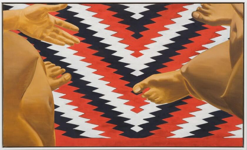 """Untitled,"" 1970, by Luchita Hurtado."