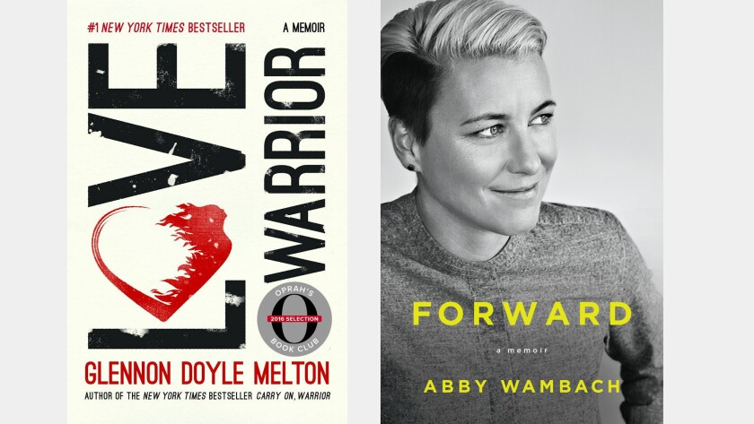 """Glennon Doyle Melton, author of """"Love Warrior,"""" is in a relationship with Abby Wambach, who tells her story in 'Forward.'"""