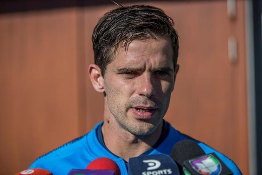 El jugador del Boca Juniors Fernando Gago. EFE/Archivo