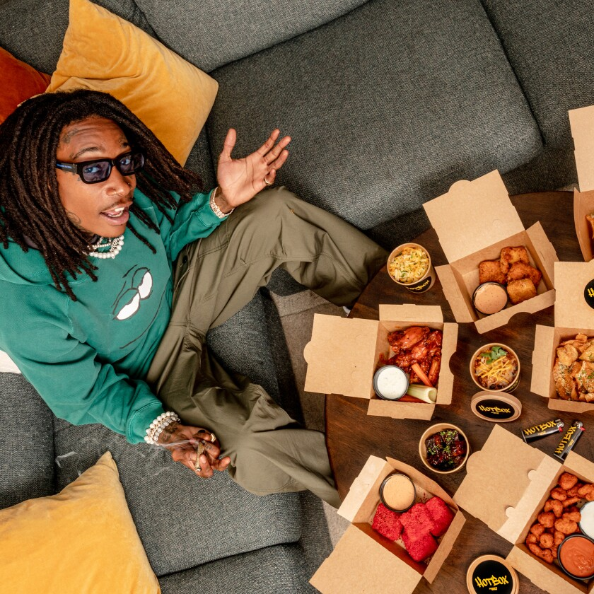Rapper Wiz Khalifa has launched Hotbox by Wiz in San Diego