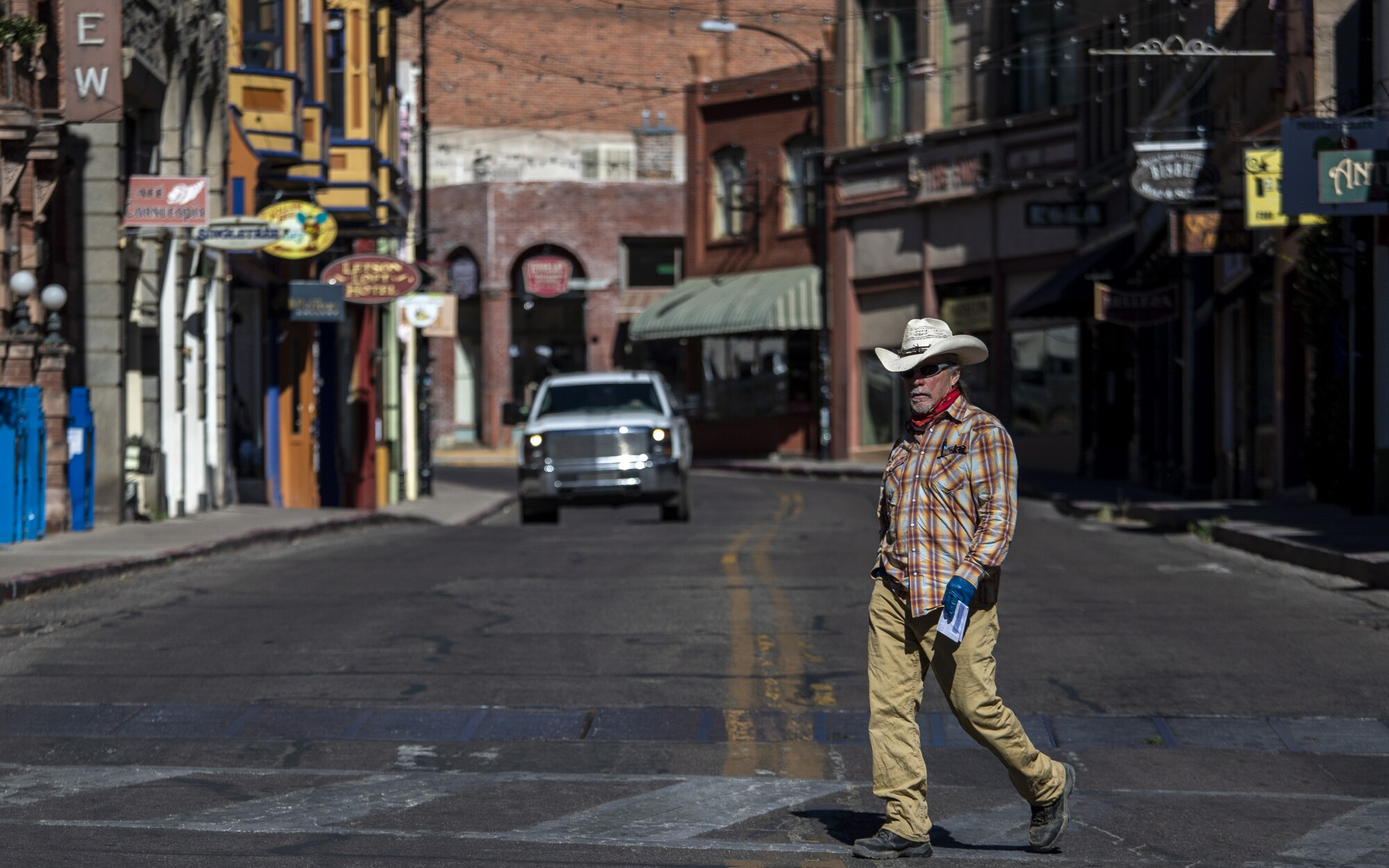 Bisbee, Ariz., was once a haven for immigrants or anyone searching for a new start.