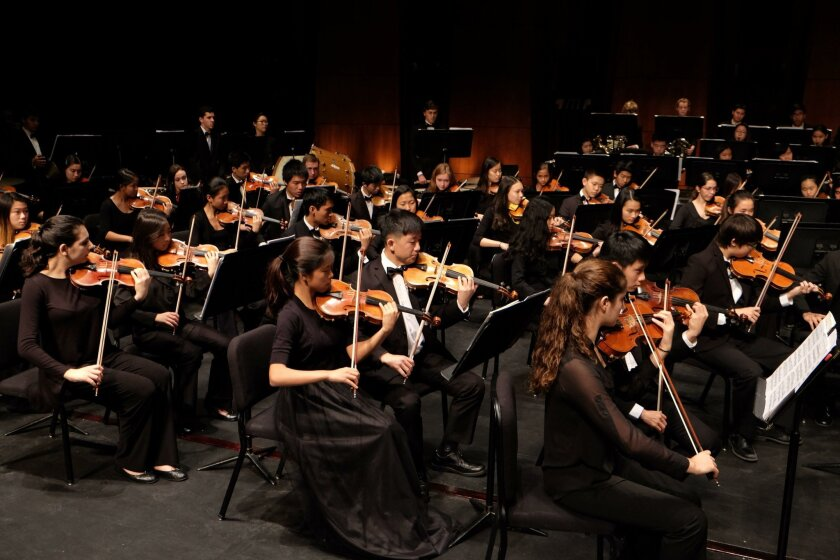 San Diego Youth Symphony and Conservatory Spring Concerts