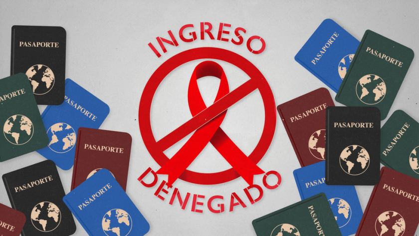 Sin embargo, aún hay 35 países en el mundo donde existen limitaciones, más o menos severas, basadas en el supuesto riesgo para la salud pública de la población local que supondría el recibir a personas con el virus.