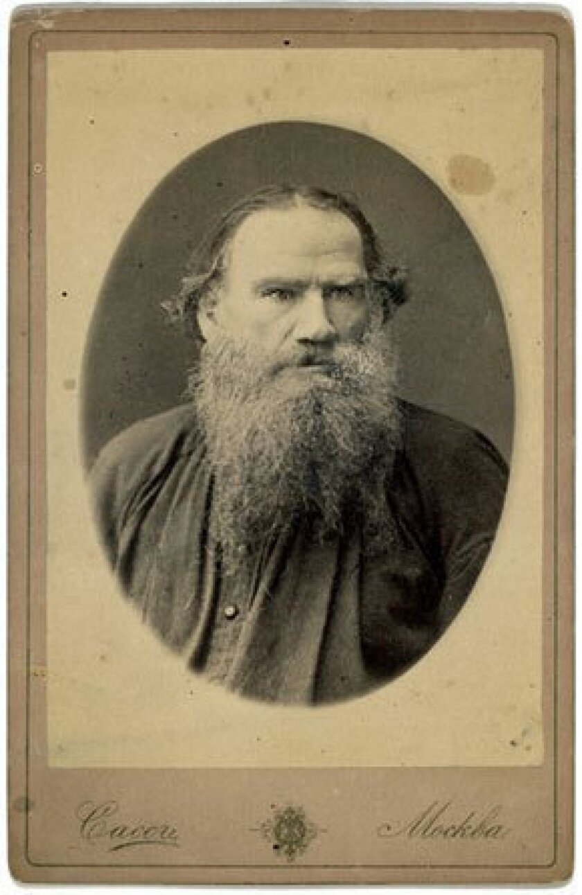 """The Russian author Leo Tolstoy, circa 1880. His tract, """"What, Then, Must We Do?"""" played a role in an episode of street justice in Iran."""