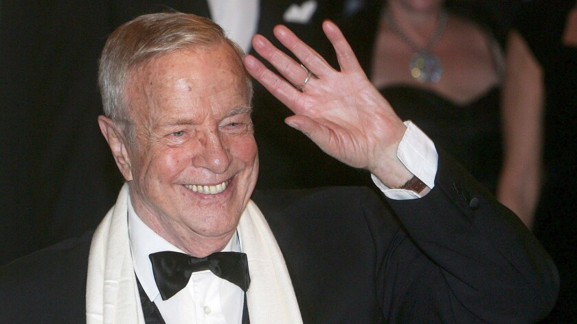 Franco Zeffirelli at a theater in Milan, Italy, in December 2006.