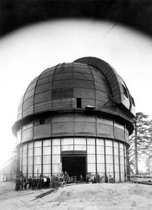 Ten great observatories in the West: Mt. WIlson in Southern California