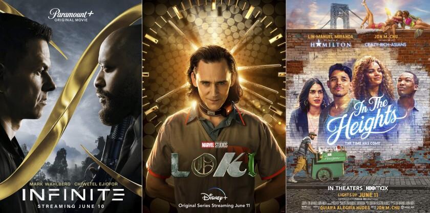 """""""Infinite"""", la serie """"Loki"""" y la cinta musical """"In the Heights"""""""