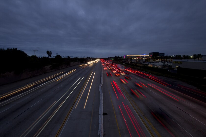 The plan to construct toll lanes along a widened, 14-mile section of the 405 Freeway in Orange County has met with fierce public opposition but appears to be going forward.