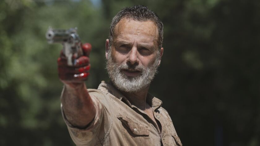 On 'Walking Dead,' Rick's departure is just one more opportunity to hit the reset butto