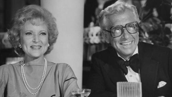 """Betty White met her husband Allen Ludden on the set of the game show """"Password"""" when she was a panelist and he was the host. They married in 1962 and were together until his death in 1981."""