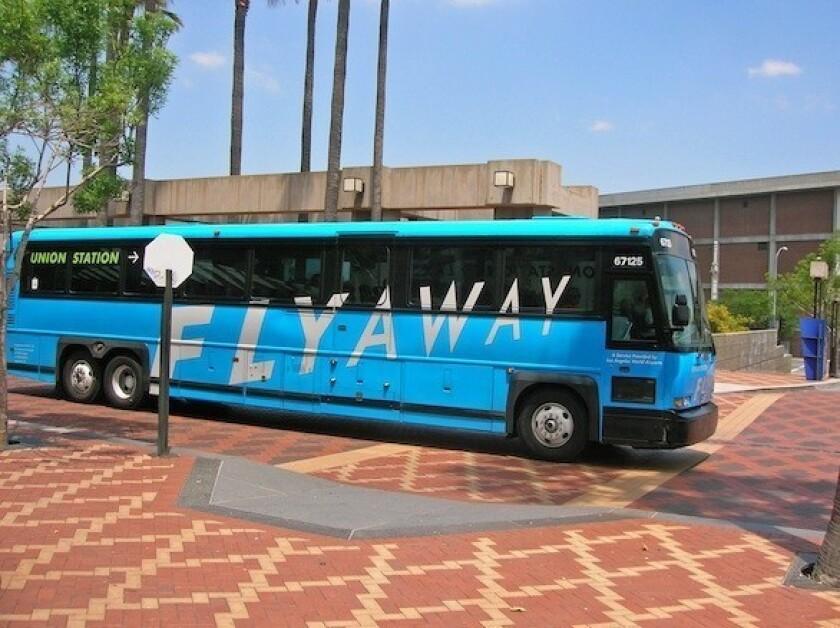 LAX Flyaway bus