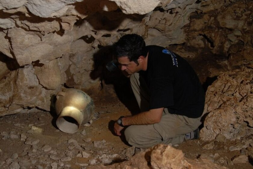 Dr. Dominique Rissolo, an archaeologist specializing in the study of caves, contributed his expertise to 'Maya: Hidden Worlds Revealed.'