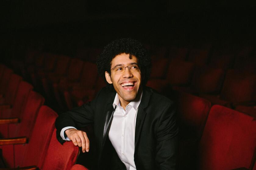 Rafael Payare, San Diego Symphony's new music director