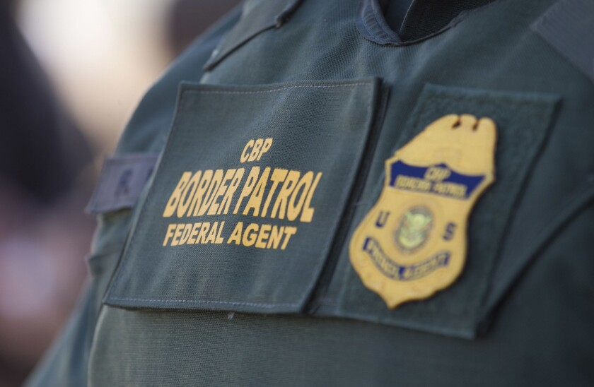 Customs and Border Protection agent
