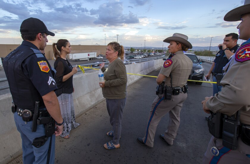 El Paso shooting victim recalled as 'a beautiful person' - Los