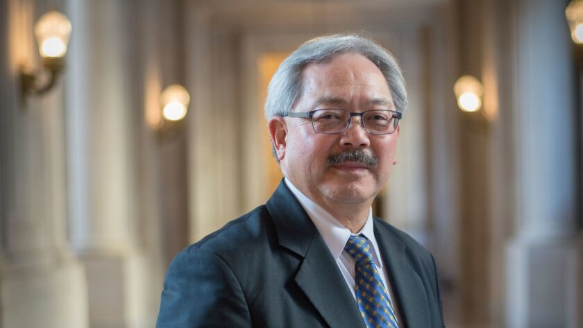 JANUARY 29, 2015 SAN FRANCISCO, CA San Francisco mayor Ed Lee poses for a portrait at city hall. Dav