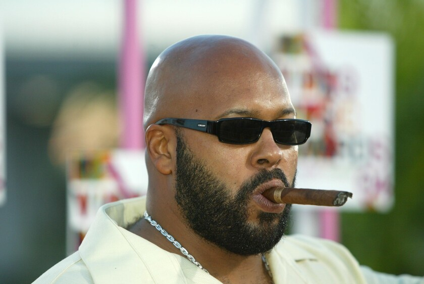 Suge Knight at the 2004 MTV Video Music Awards.