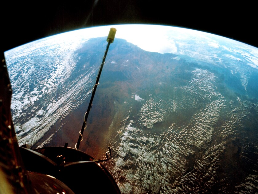 View from Gemini XI