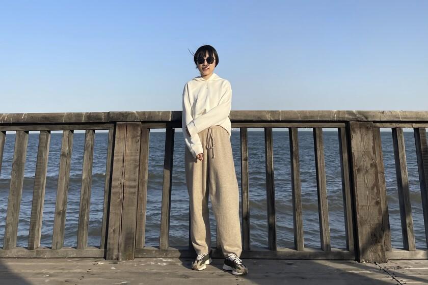 Monica Ma poses for a photo