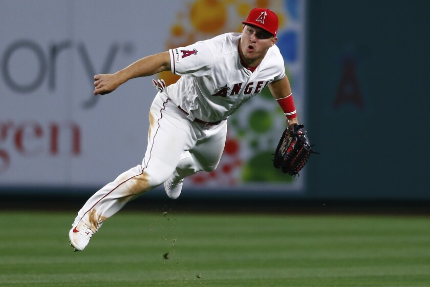 The Angels' slugging outfielder won his third most valuable player award.