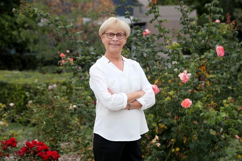 Jane O. Newman, a professor in UCI's Comparative Lit Dept.
