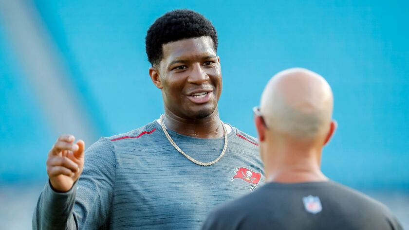 Quarterback Jameis Winston is stepping up in this year's show and changing the way we think of him.