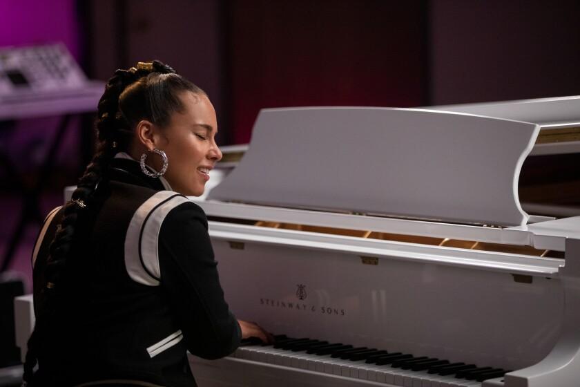 """Alicia Keys in """"Song Exploder."""""""