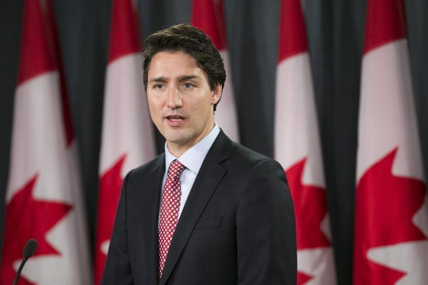 El primer ministro de Canadá, Justin Trudeau. EFE/Archivo