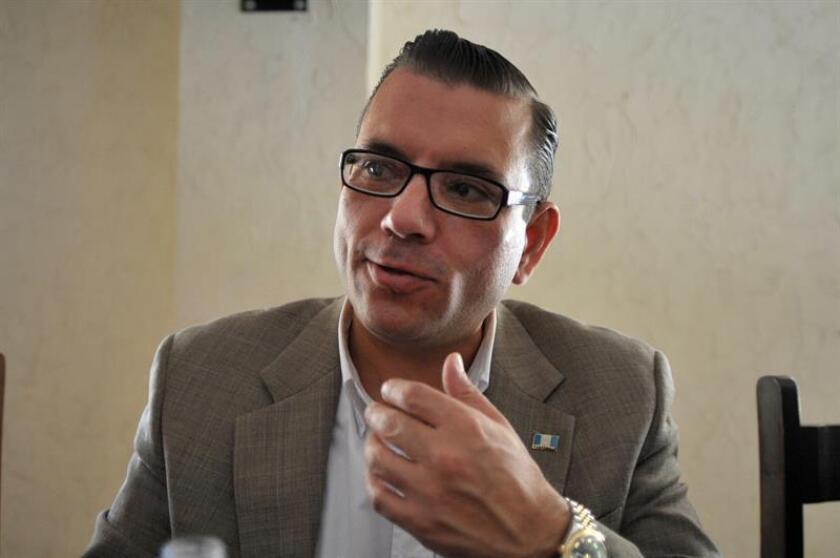 """El excandidato a la Presidencia de Guatemala Manuel Baldizón, acusado en Estados Unidos de lavado de dinero, tendrá el próximo 16 de enero una reunión en un tribunal de Miami en el marco de las """"negociaciones"""" con la Fiscalía, que incluyen una """"posible"""" libertad bajo fianza. EFE/Archivo"""