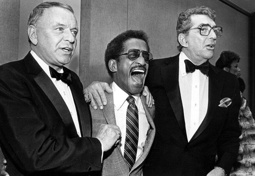 Frank Sinatra, Sammy Davis Jr., Dean Martin