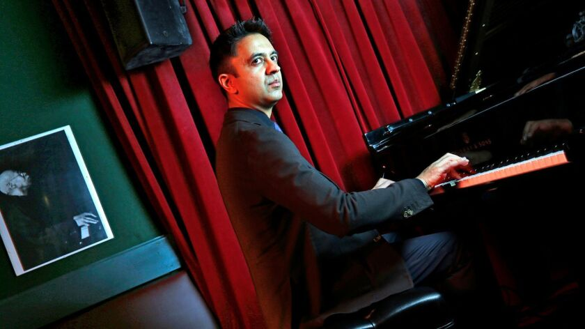 NEW YORK, NEW YORK--MAY 12, 2017--Pianist Vijay Iyer, one of the most celebrated talents in jazz, is