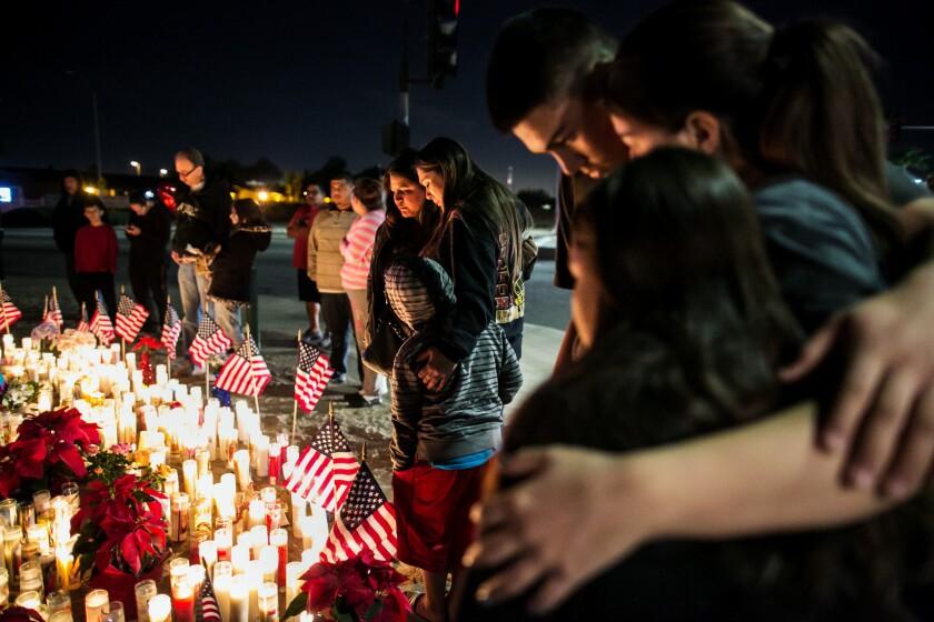 San Bernardino shooting memorial
