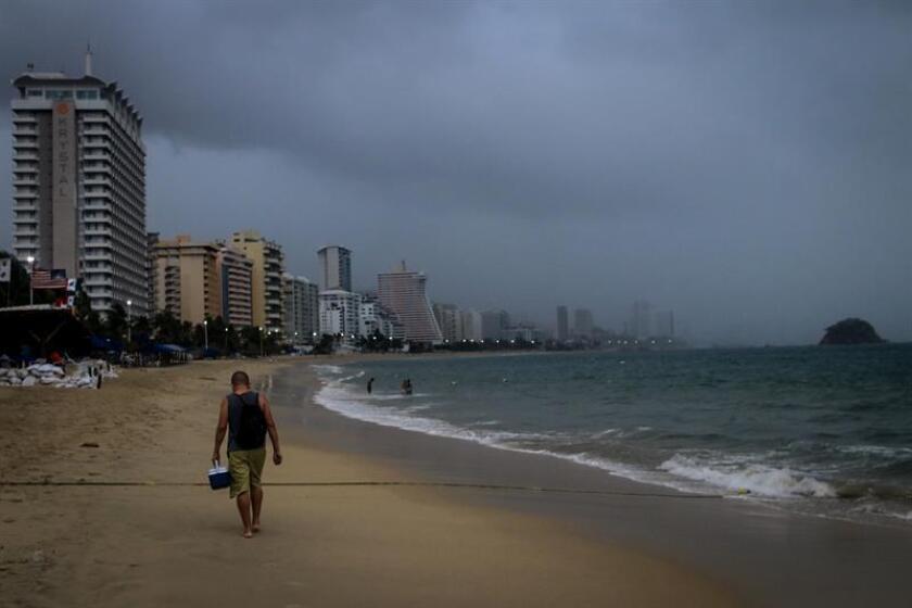 La tormenta tropical Emilia se formó en las últimas horas en el Océano Pacífico y por su lejanía de las costas mexicanas no afecta al territorio, informó hoy el Servicio Meteorológico Nacional (SMN). EFE/Archivo
