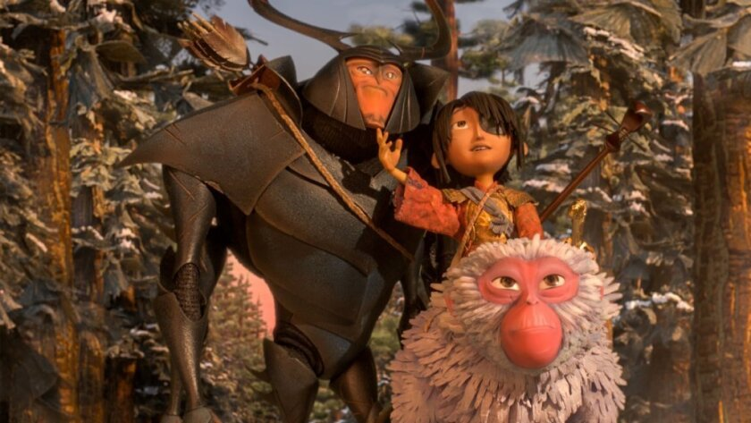 """A still from the film """"Kubo and the Two Strings."""""""