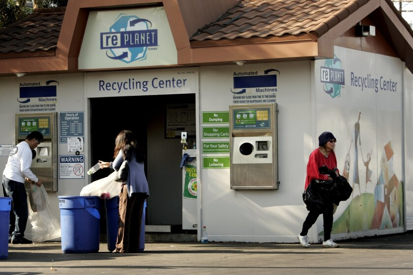 RePlanet recycling centers closed last August