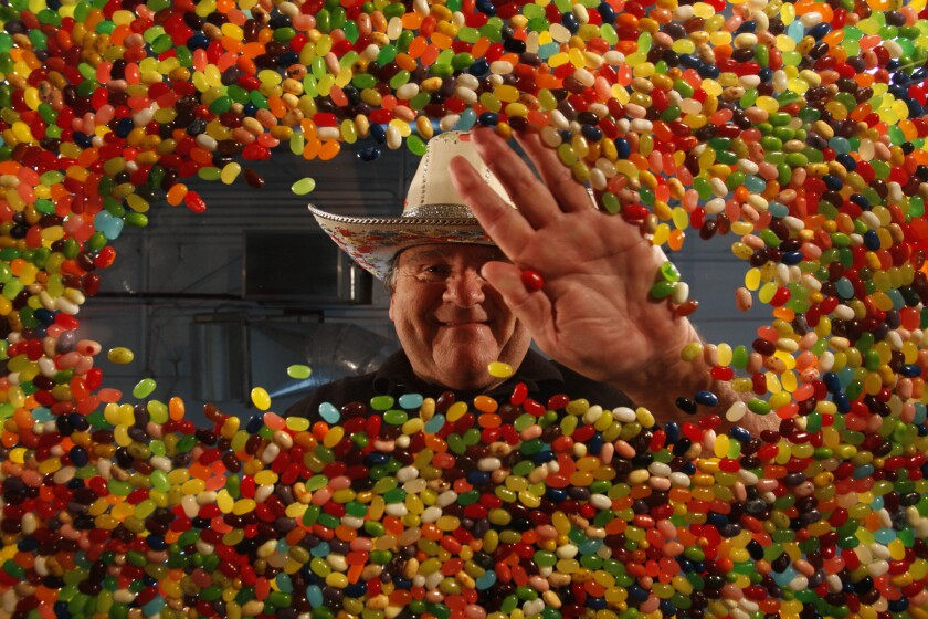 Jelly Belly jelly bean inventor David Klein, shown in 2011, is looking for a new opening in the candy business.
