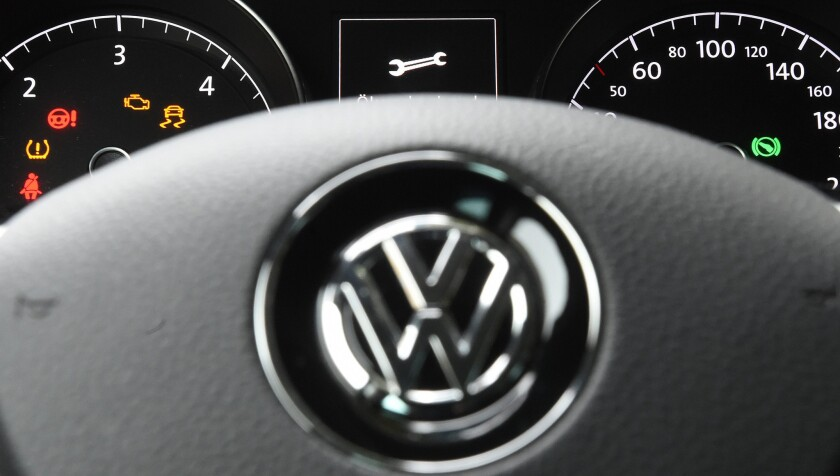 A class action lawsuit seeks to force Volkswagen to repurchase the diesel cars with emissions-test rigging software that were sold in California.