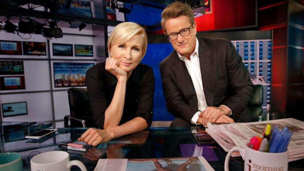 Trump and 'Morning Joe' trade insults on Twitter - Los