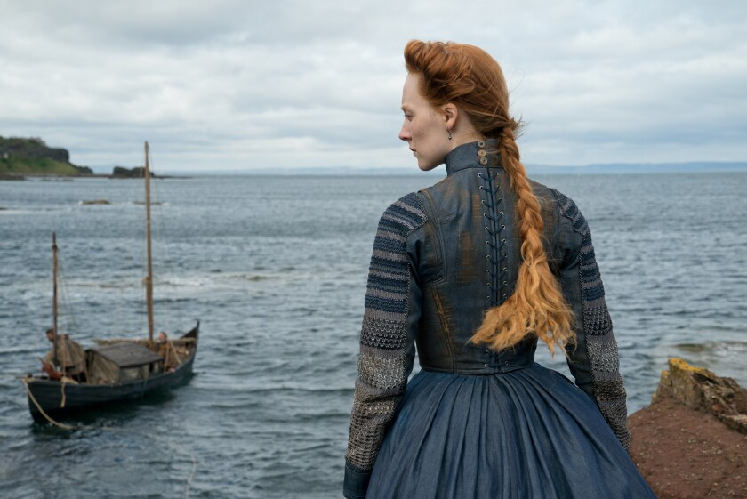 """Saoirse Ronan plays the title role in the new historical drama """"Mary Queen of Scots."""""""