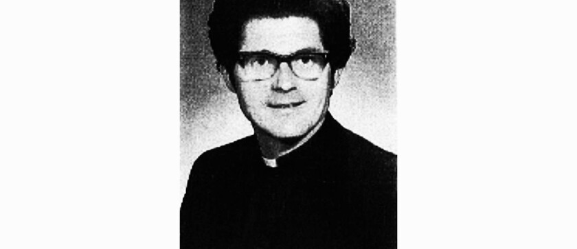 Brother Edward Courtney in an undated photo from the Roman Catholic Archdiocese of Seattle.