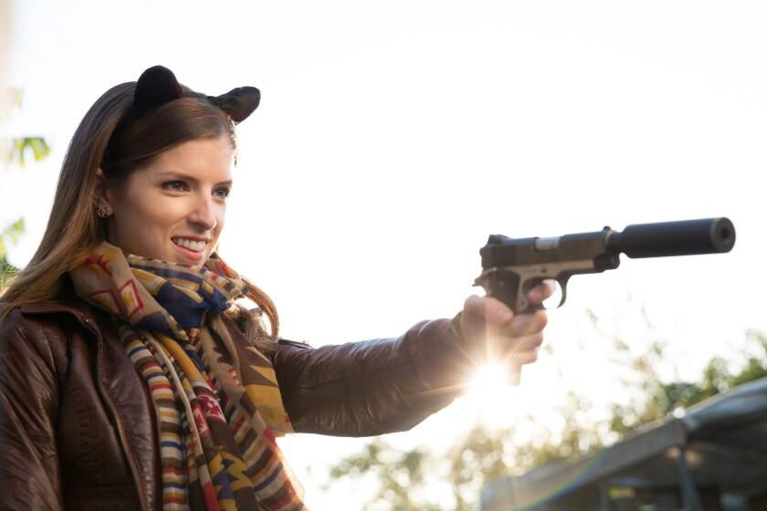 """Anna Kendrick in the film """"Mr. Right."""""""