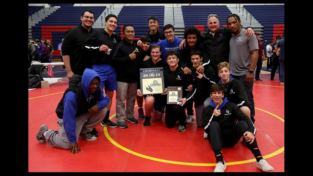Photo Gallery: CIF Southern Section Northern Division Individual Wrestling Championships