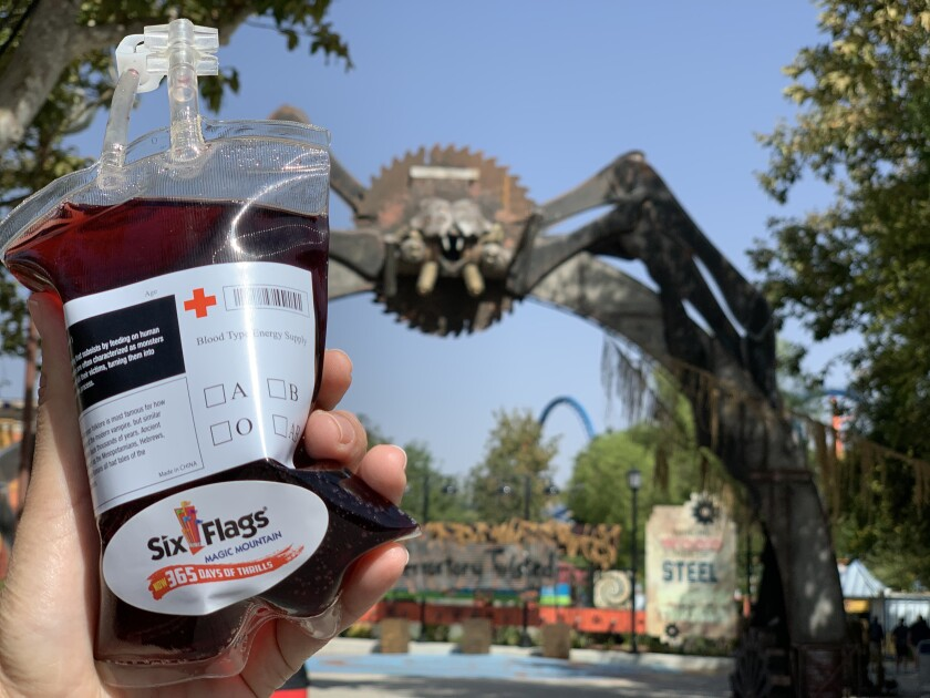 Theme parks whip up extreme Halloween foods and drinks to get social media buzz